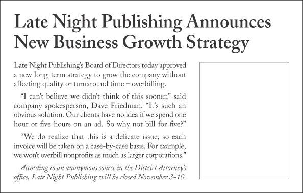 Late Night Publishing Announces New Business Growth Strategy